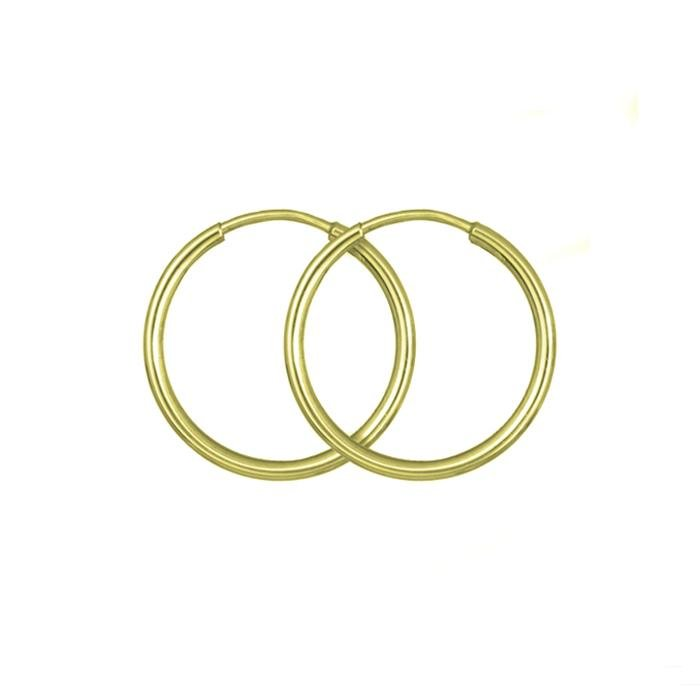 Rings SK101 Earrings Gold 9ct 1.5cm - Goldy Jewelry Store