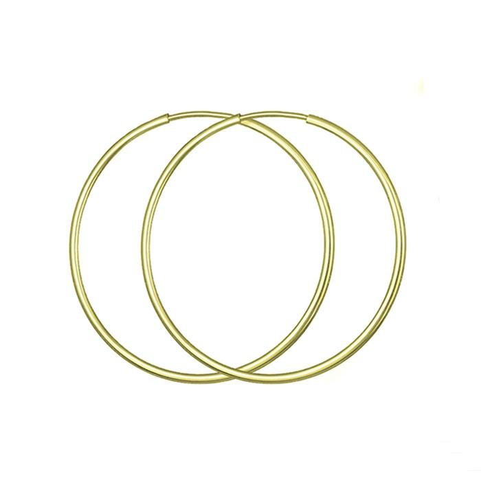 Rings SK105 Earrings Gold 9ct 3.5cm - Goldy Jewelry Store