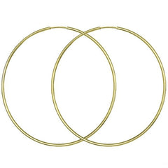 Rings SK107 Earrings Gold 9ct 5cm - Goldy Jewelry Store