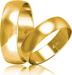 White Gold Wedding Rings HR4 Stergiadis - Goldy Jewelry Store