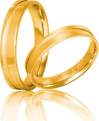 White Gold Wedding Rings S19 Stergiadis - Goldy Jewelry Store