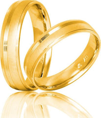 White Gold Wedding Rings S24 Stergiadis - Goldy Jewelry Store