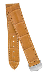 Λουρί Navigator Louisiana Alligator 07107475 Honey Leather Strap - Κοσμηματοπωλείο Goldy