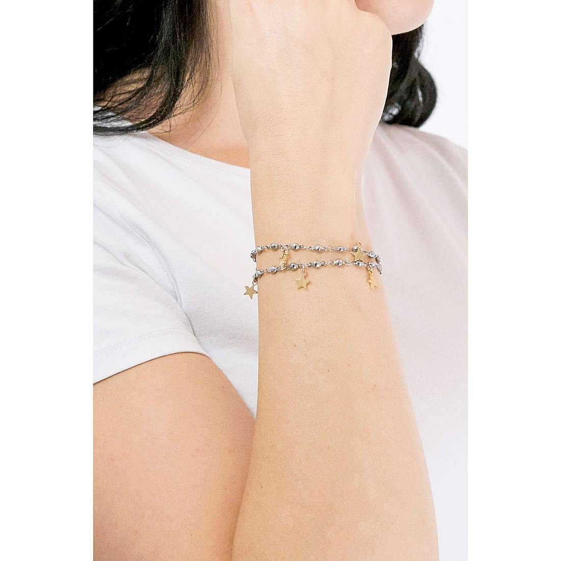 Luca Barra BK1844 Gold Bracelet with Gold Plating - Goldy Jewelry Store