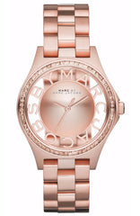 Marc Jacobs MBM3339 Henry Rose Gold Stainless Steel Bracelet - Κοσμηματοπωλείο Goldy
