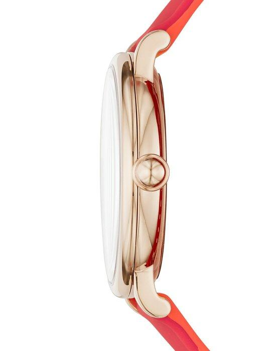 Marc Jacobs MJ1623 Classic Red Rubber Strap - Κοσμηματοπωλείο Goldy