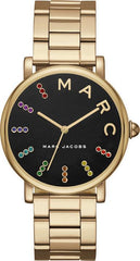 Marc Jacobs MJ3567 Classic Gold Stainless Steel Bracelet - Κοσμηματοπωλείο Goldy