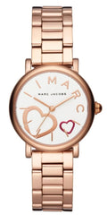 Marc Jacobs MJ3592 Classic Rose Gold Stainless Steel Bracelet - Κοσμηματοπωλείο Goldy
