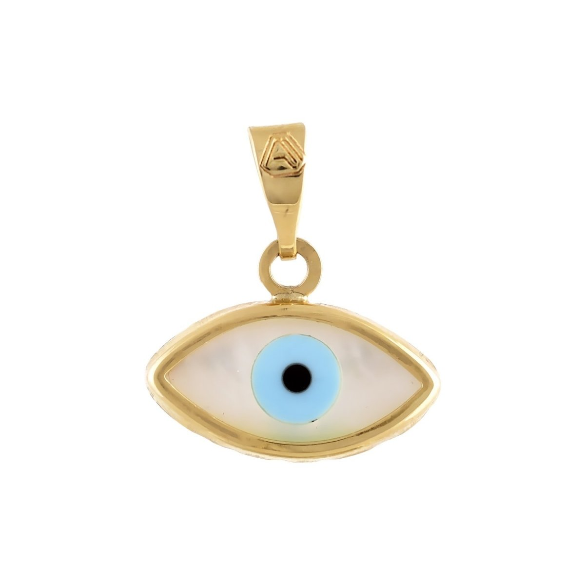Eyelet M115 Gold with Fildisi K9 - Goldy Jewelry Store