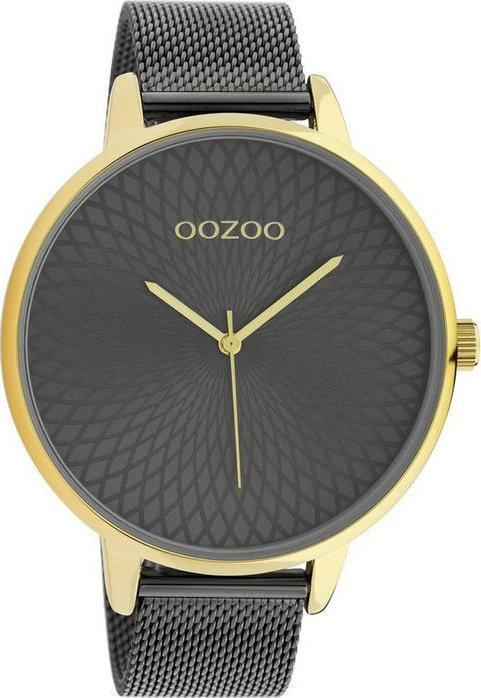 OOZOO C10554 48MM Timepieces Grey Metallic Bracelet - Κοσμηματοπωλείο Goldy