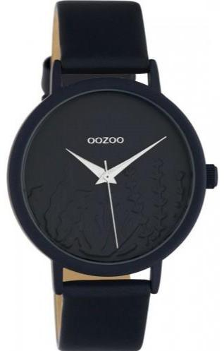 OOZOO C10607 36MM Timepieces Black Leather Strap - Goldy Jewelry