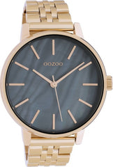 OOZOO C10624 40MM Timepieces Rose Gold Metal Bracelet - Κοσμηματοπωλείο Goldy