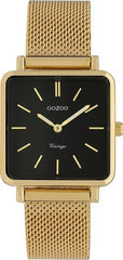 OOZOO C9845 28MM Timepieces Vintage Gold Metal Bracelet - Κοσμηματοπωλείο Goldy