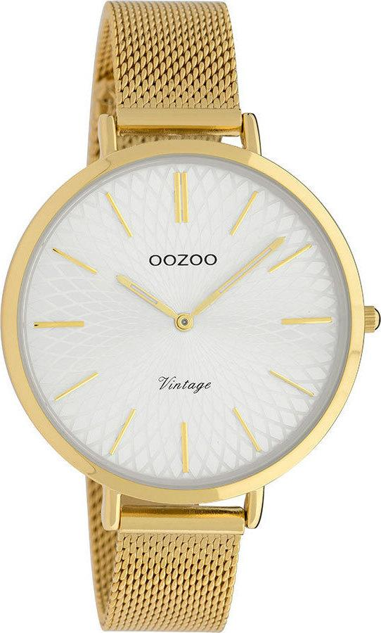 OOZOO C9863 40MM Timepieces Vintage Gold Metal Bracelet - Κοσμηματοπωλείο Goldy