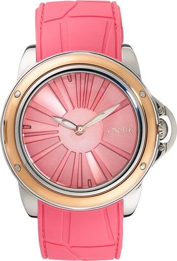 Oxette 11X75-00195 Pink Rubber Strap Watch - Goldy Jewelry