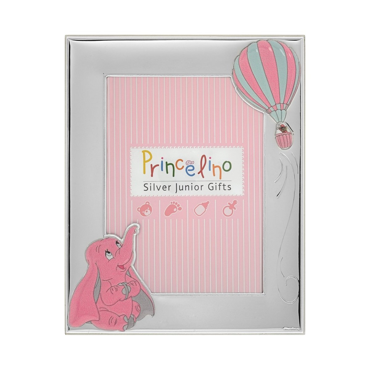 Children's Silver Frame MA-274D-R 9cm x 13cm - Goldy Jewelry Store