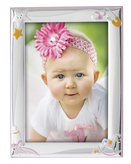 Children's Silver Frame MA / 127-DR 9cm x 13cm - Goldy Jewelry Store