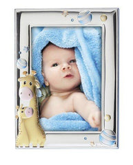 Children's Silver Frame MA / 129-BC 13cm x 18cm - Goldy Jewelry Store
