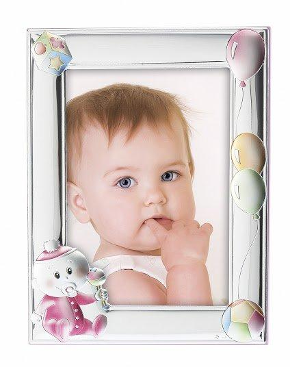 Children's Silver Frame MA / 130-BR 13cm x 18cm - Goldy Jewelry Store