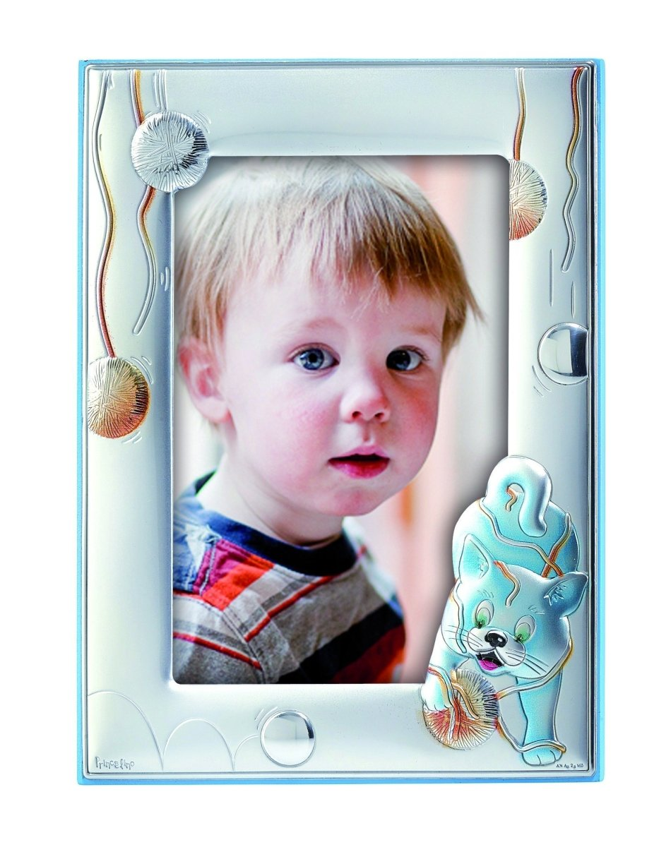 Children's Silver Frame MA / 134-BC 13CM X 18CM - Goldy Jewelry Store