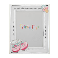 Children's Silver Frame MA / 272D-R 9cm x 13cm - Goldy Jewelry Store