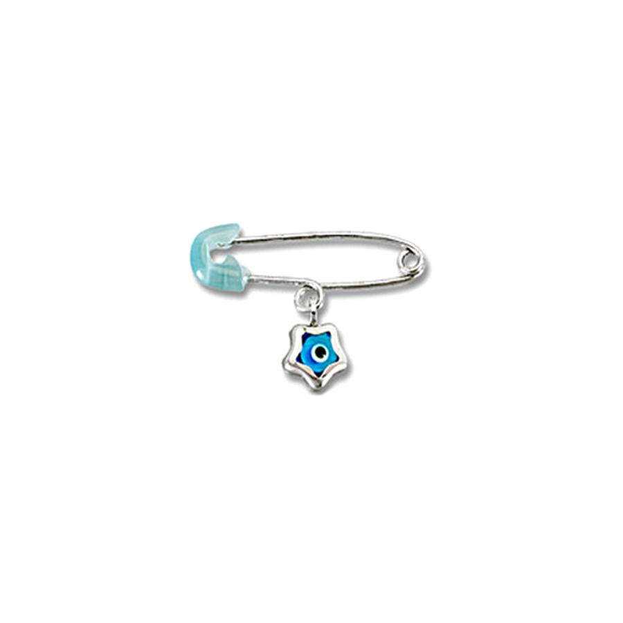 Nut for Newborn P187 White Gold K9 - Goldy Jewelry Store