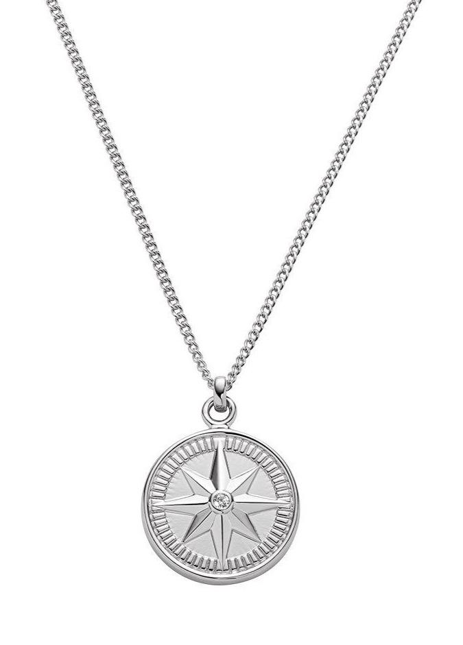 PAUL HEWITT PH003099 Platinum Silver Necklace - Goldy Jewelry Store