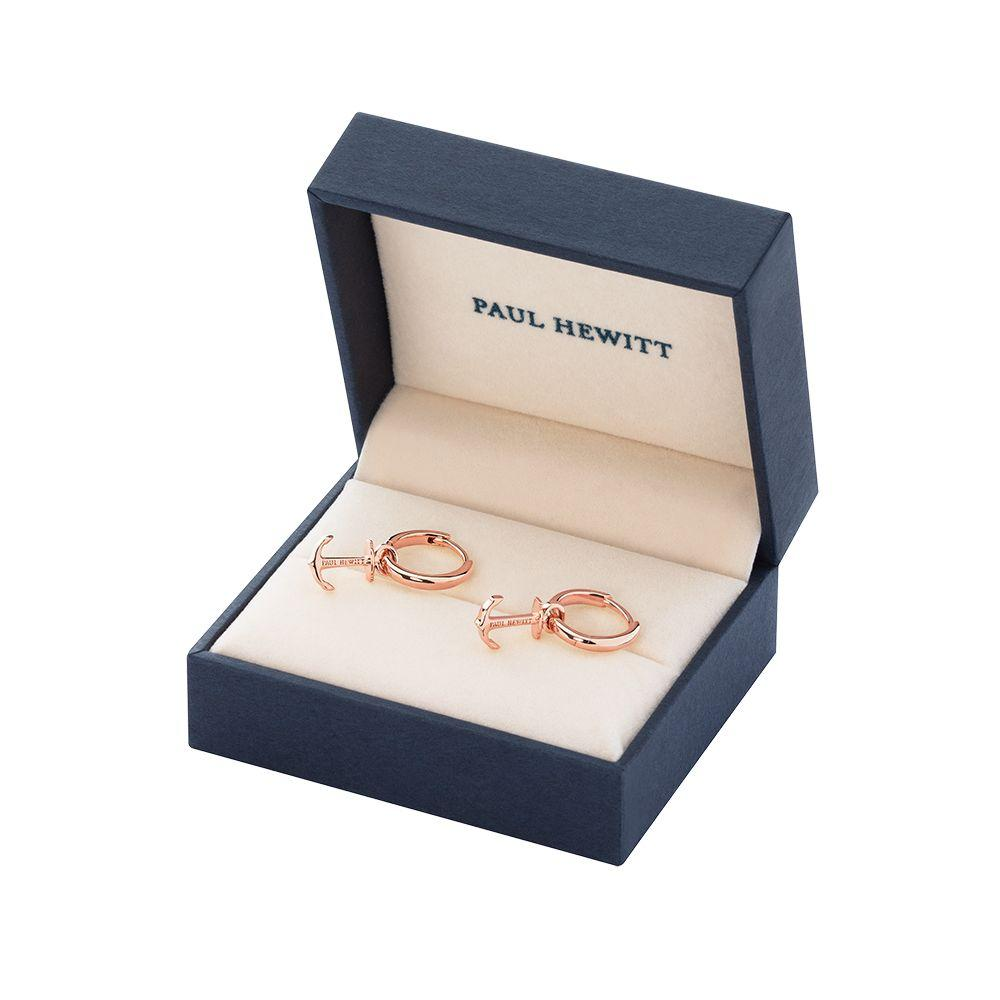 PAUL HEWITT PH003113 Pendant Earrings with Rose Gold Plated Silver - Goldy Jewelry Store
