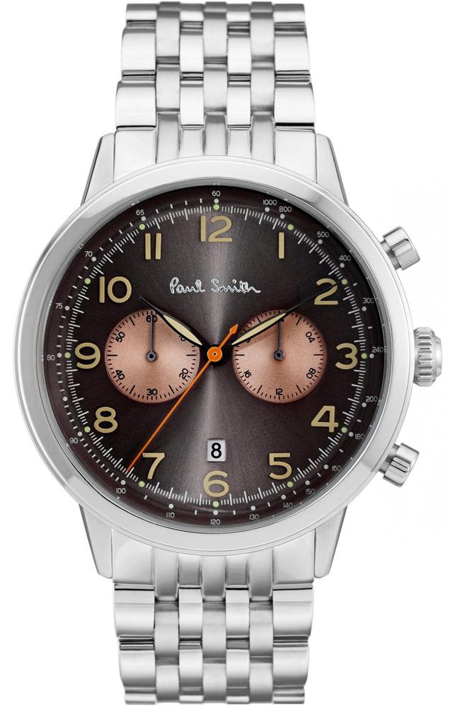Paul Smith P10019 Precision Stainless Steel Chronograph - Goldy Jewelry