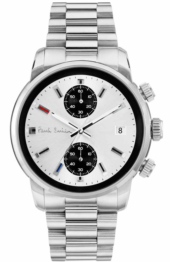 Paul Smith P10034 Block Stainless Steel Chronograph - Goldy Jewelry