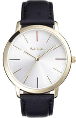 Paul Smith P10059 MA Brown Leather Strap - Goldy Jewelry