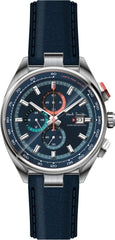 Paul Smith PS0110012 Chronograph Blue Leather Strap - Κοσμηματοπωλείο Goldy