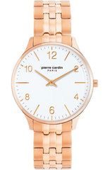 Pierre Cardin PC902722F120 Rose Gold Stainless Steel Bracelet - Κοσμηματοπωλείο Goldy