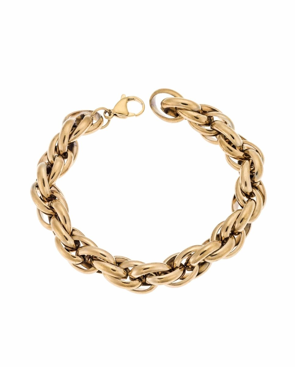 Puppis PUB08224G Gold Plated Bracelet - Goldy Jewelry Store