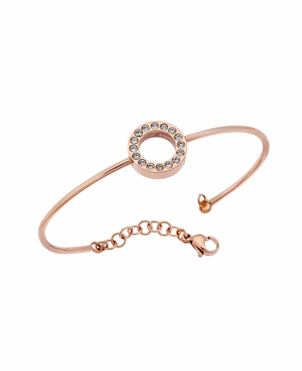 Puppis PUB20322R Bracelet Handcuffs Made of Gold Plated Steel - Goldy Jewelry Store