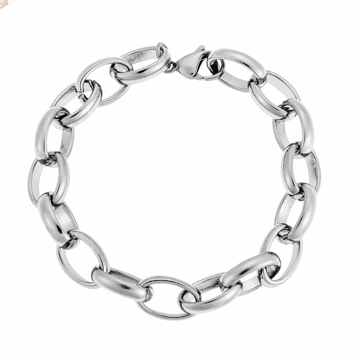 Puppis PUB62618S Steel Bracelet with Rings - Goldy Jewelry Store