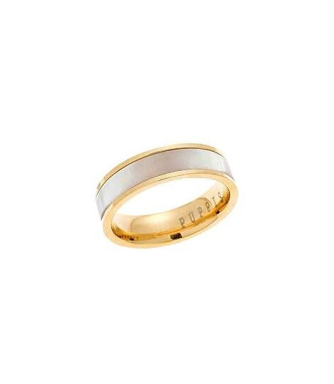 Puppis PUR34990G Gold Plated Ring - Goldy Jewelry Store
