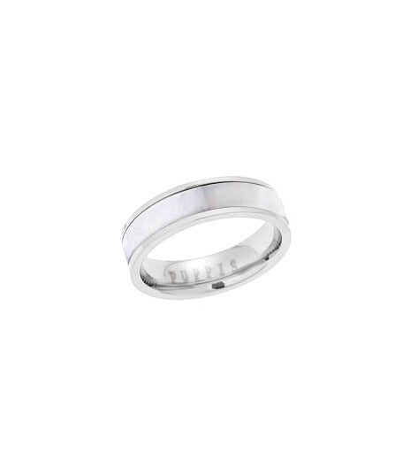 Puppis PUR34991S Steel Ivory Ring - Goldy Jewelry Store