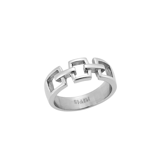 Puppis PUR44470S Steel Ring - Goldy Jewelry Store