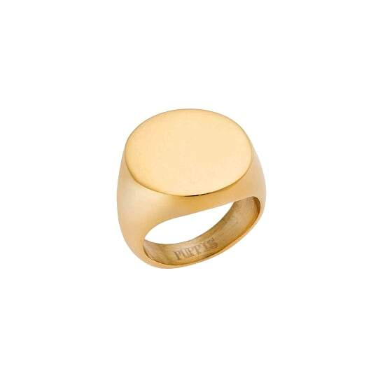 Puppis PUR47940G Gold Plated Ring - Goldy Jewelry Store