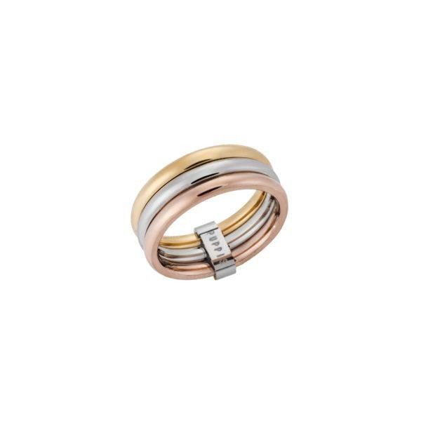 Puppis PUR48778R Gold Ring Trivero Ring - Goldy Jewelry Store