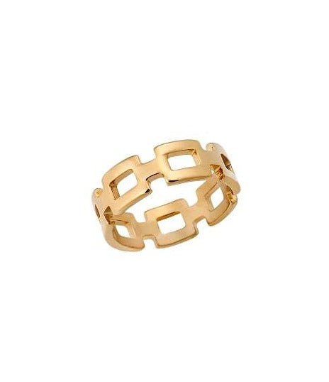 Puppis PUR51533G Gold Plated Ring - Goldy Jewelry Store