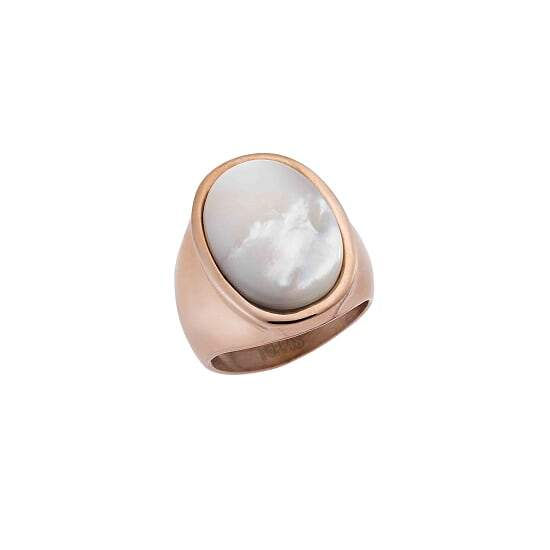 Puppis PUR53720R Rose Gold Plated Steel Ring - Goldy Jewelry Store