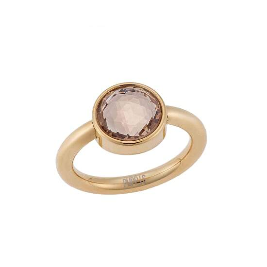 Puppis PUR82302G Gold Plated Zircon Ring - Goldy Jewelry Store