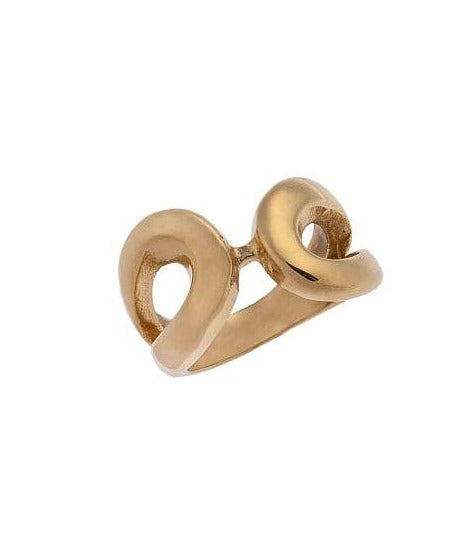 Puppis PUR86997G Gold Plated Ring - Goldy Jewelry Store
