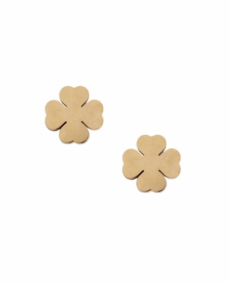 Puppis PUW27923G Gold Plated Earrings - Goldy Jewelry Store