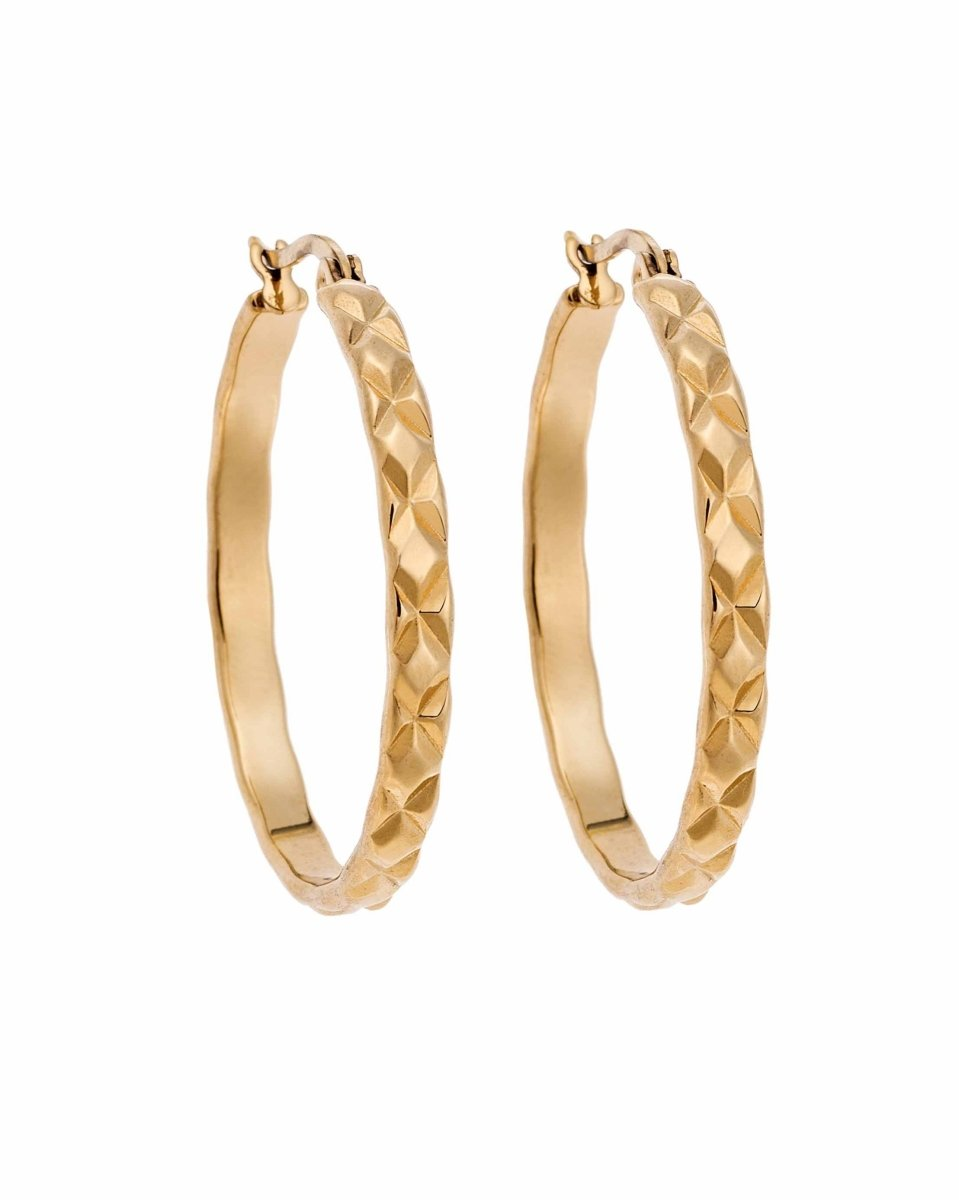 Puppis PUW76340G Gold Plated Earrings - Goldy Jewelry Store