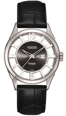 ROAMER R101550415001 Competence Automatic Black Leather Strap - Κοσμηματοπωλείο Goldy