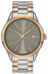 ROAMER R508833490551 Superior Two Tone Stainless Steel Bracelet - Goldy Jewelry