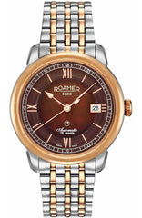 ROAMER R957660496390 Automatic Two Tone Stainless Steel Bracelet - Jewelry Goldy